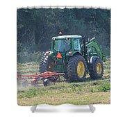 Raking Hay Shower Curtain