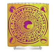 Runes Shower Curtain
