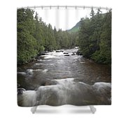 Sainte-anne River, Quebec Shower Curtain