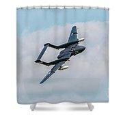 Sea Vixen Shower Curtain