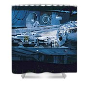 Star Wars Episode 6 Poster Shower Curtain