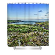 Strumble Head Lighthouse Shower Curtain