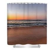 Sunrise Beach Seascape Shower Curtain