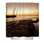 Sunset At Basanija Shower Curtain