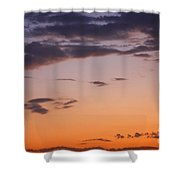 Sunset Moreno Valley Ca Shower Curtain