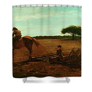 The Brush Harrow Shower Curtain