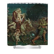The Triumph Of The Innocents Shower Curtain