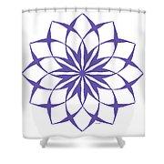 6 Third Eye Chakra Shower Curtain