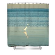 Tranquil Nature In Florida Keys Shower Curtain