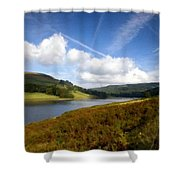V F Landscape Shower Curtain