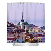 Valparaiso, Chile Shower Curtain