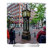 Vancouver Bc Canada Shower Curtain
