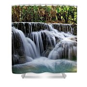 Waterfalls Shower Curtain