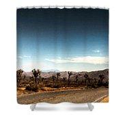G H Landscape Shower Curtain