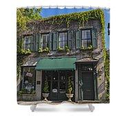 61 Queen Street In Charleston Shower Curtain