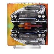 62 Corvette Shower Curtain