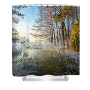 Lake Landscape Shower Curtain