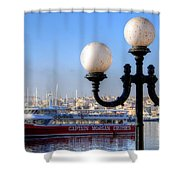 Valletta, Malta Shower Curtain
