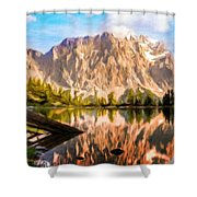 Nature Work Landscape Shower Curtain