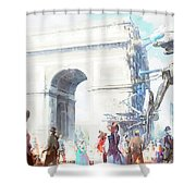 Artistic Shower Curtain