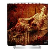 Winsome Woman  Shower Curtain