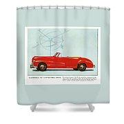 66 Oldsmobile Shower Curtain