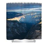 R F Landscape Shower Curtain