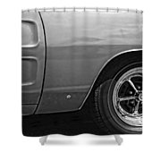 '68 Charger Shower Curtain