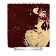 6812 Elfen Lied Hd S Shower Curtain