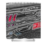 69 Mustang Shower Curtain