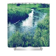 Spring Water Shower Curtain