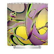 6jkb Shower Curtain