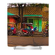 6x1 Philippines Number 48 Panorama Shower Curtain