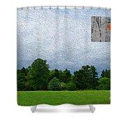 7-16-3057c Shower Curtain
