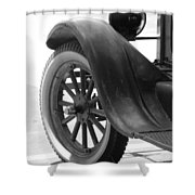 1926 Model T Ford Shower Curtain