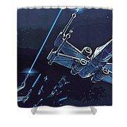 2 Star Wars Art Shower Curtain