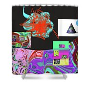 7-20-2015gabcdefghijklmnopq Shower Curtain