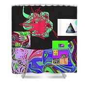 7-20-2015gabcdefghijklmnopqrtu Shower Curtain