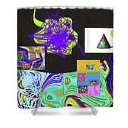 7-20-2015gabcdefghijklmnopqrtuvwxyzabc Shower Curtain