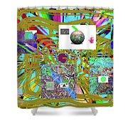 7-25-2015abcdefghijklmnopqr Shower Curtain