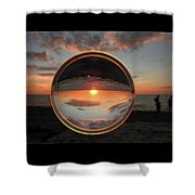 7-26-16--4577 Don't Drop The Crystal Ball, Crystal Ball Photography Shower Curtain