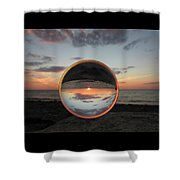 7-26-16--4581 Don't Drop The Crystal Ball, Crystal Ball Photography Shower Curtain