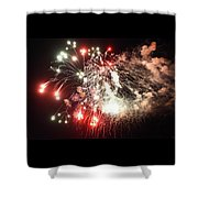7-4-17--0464 Don't Drop The Crystal Ball Shower Curtain