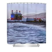 Arrieta - Lanzarote Shower Curtain
