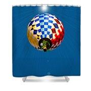 Balloon Festival 2015 Shower Curtain
