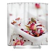 Bath Salt Shower Curtain