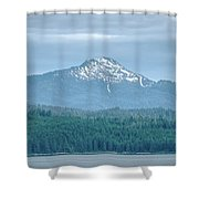 Beautiful Landscapes Around Ketchikan And Tongass Forest In Alas Shower Curtain