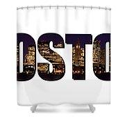 Boston Massachusetts Shower Curtain