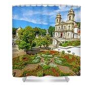 Braga Sanctuary Portugal Shower Curtain