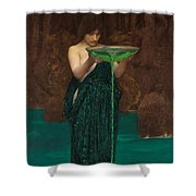 Circe Invidiosa  Shower Curtain